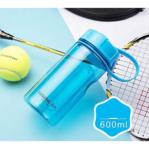 FISH4 Botellas de Agua de plástico de Calidad 2000Ml Botella Deportiva portátil de Gran Capacidad para Exteriores con infusor de té Botellas de coctelera de Fitness