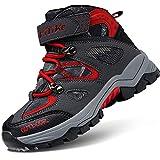 Botas de Senderismo Zapatos de Algodón Botas para la Nieve Botas de Invierno para Unisex Niños, 30...