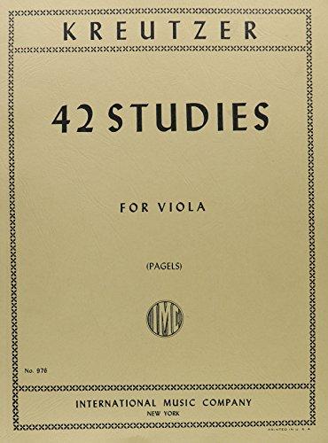 Kreutzer, Rodolphe - 42 Studies ...