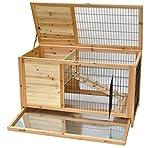 nanook Hamsterkäfig Meerschweinchenkäfig - Natur - 100 x 50 x