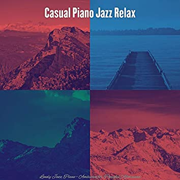 Lonely Jazz Piano - Ambiance for Peaceful Afternoons