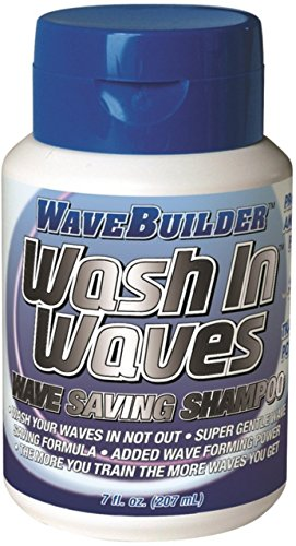 WaveBuilder Wash In Waves Shampoo, 7 oz (Pack of 5)