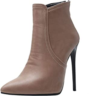 Melady Fashion Ankle Boots Heels Height 12CM