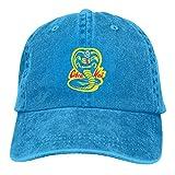 XCNGG Co-Bra K-a-i Gorra de Vaquero Ajustable Sombrero de Mezclilla para Mujeres y Hombres...