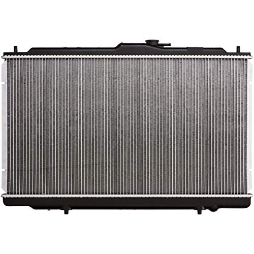 ZR AT Complete Radiator Replacement for 1999-2001 TL 3.2L 1998-2002 Accord 3.0L 1998-2002 Accord V6 Automatic Transmission with Oil Cooler 5/8 Core Thickness