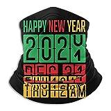 huatongxin feliz año nuevo 2021, odómetro de año nuevo unisex sin costuras bandanas cuello polaina diadema bufanda