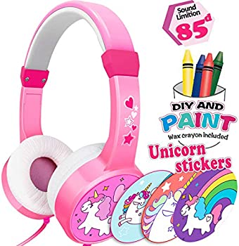 GreaSmart Unicorn Kids Over Ear Wired Headphones