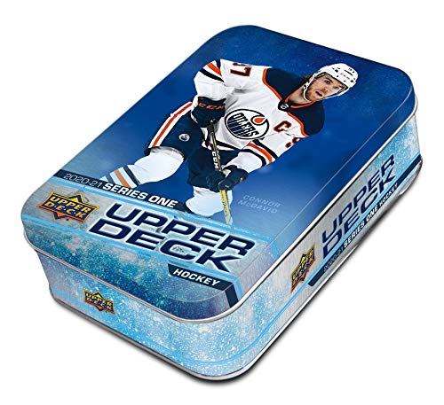 2020/21 Upper Deck Series 1 NHL Hockey TIN box (9 pks/bx)