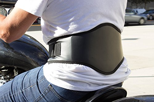 Back-A-Line MotoSport Kidney Belt with Orthopedic Lumbar Pad (Medium)