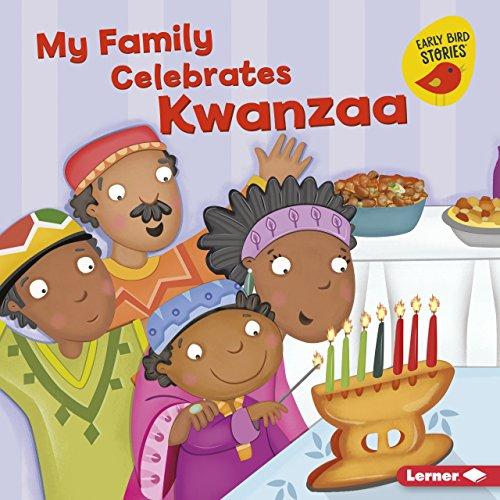 Familien min feirer Kwanzaa