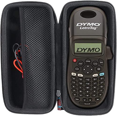 Khanka Hart Tasche Case für Dymo LetraTag LT-100H/LT-100H PlusBeschriftungsgerät Handgerät Tragbares Etikettendrucker Etui Schutzhülle