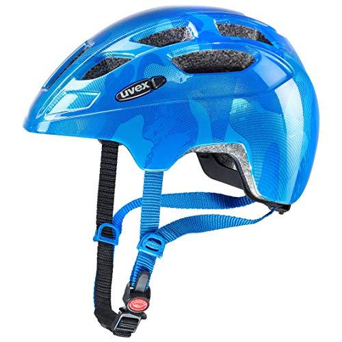 Uvex Unisex Jugend, finale junior Fahrradhelm, blue, 51-55 cm