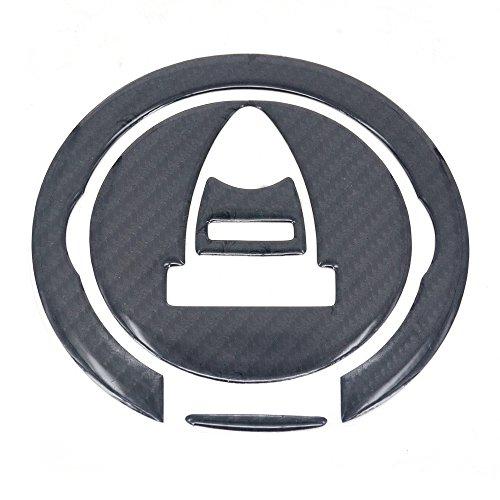Fast Pro Cap REAL CARBON FIBER Gas Pad Fuel Tank Aufkleber Aufkleber für Ducati Diavel 119869679611001098