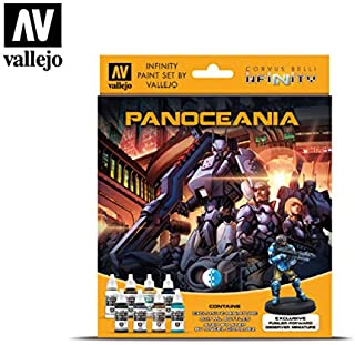 70231 Infinity Panoceania Exclusive Miniature Acrylic Paint Set