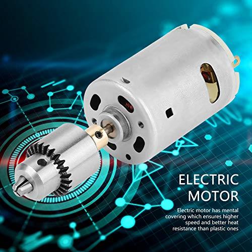 Elektromotorset, Elektromotor, langlebiger Motor Mini-Elektromotor Kleiner Elektromotor Elektrobohrer DIY für Power Drill Polierbohrer