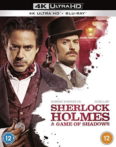 Sherlock Holmes: A Game Of Shadows (2 Blu-Ray) [Edizione: Regno Unito]