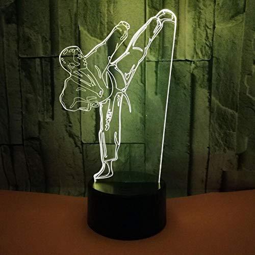 Iluminación De Dormitorio Decoración Creativa 3D