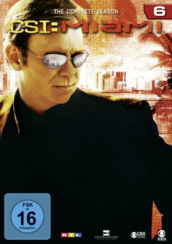 CSI: Miami - Season 6 [6 DVDs]