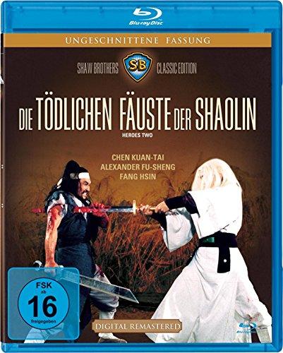 Die tödlichen Fäuste der Shaolin - uncut - (Shaw Brothers) (Blu-ray)