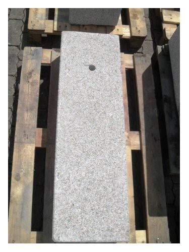 Brunnenstele aus rosa Granit 100 cm hoch Brunnen Steintrog - Granittrog Sandsteintrog