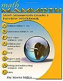 Math Mammoth Grade 1 Review Workbook