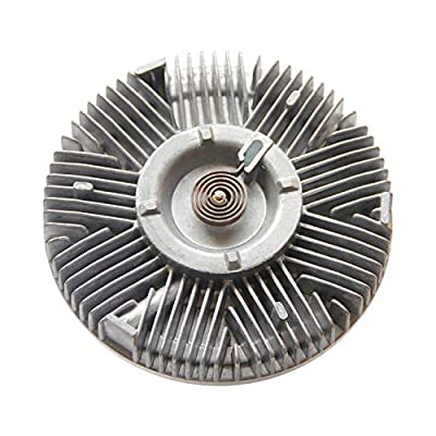 Engine Cooling Fan Clutch Radiator Fan Clutch for 2003-2007 Chevy Avalanche 1999-2010 Silverado GMC Sierra 2000-2013 Suburban Tahoe Yukon Replace#2986