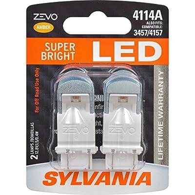 SYLVANIA ZEVO 4114 Red LED Bulb (Pack of 2)