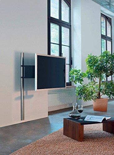 Wissmann Raumobjekte TV-Wandhalterung art 123S 94 cm bis 140 cm (37-55) Silber