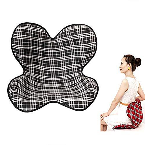 YUXINCAI Sitzkissen Und Lordosekissen Set, Schaumstoff Steißbein Sitzkissen Mit Abnehmbarem Bezug, Für Hämorrhoiden, Steißbeinbeschwerden, Und Zur Schwangerschaft