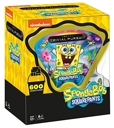 Trivial Pursuit Spongebob Squarepants Quickplay Edition | Trivia Game Questions from Nickelodeon