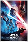 Close Up Star Wars Episode 9 Poster The Rise of Skywalker