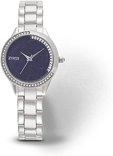 زايروس ساعة رسمية للنساء ، انالوج بعقارب - ZY1129L060611W