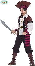 Guirca Rudy Disfraz Pirata de los de Nuevo EL Mundo, del Caribe, Niño 7–9años,, 85372