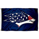 Nevada Wolfpack USA Flag Patriotic College Flag