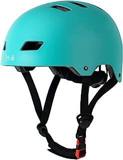 Bavilk Skateboard Bike Helmets CPSC ASTM Certified Multi Sports Scooter Inline Roller Skating 3 اندازه قابل تنظیم برای کودکان و نوجوانان بزرگسال