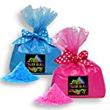 Color Blaze Gender Reveal Powder - 5 lbs Pink & 5 lbs Blue (10 pounds total) - Perfect for Gender Reveals, Burnouts, Color Toss, Photoshoot and more! Pink/Blue Combo