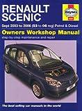 Scenic Petrol and Diesel Service and Repair Manual: 2003 to 2006 (Service & repair manuals)