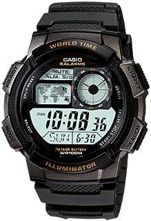 ساعة ستاندرد للرجال من كاسيو - سوار ساعة رقمي من الراتنج - طراز AE-1000W-1AV
