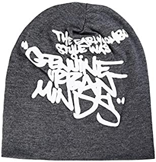 Noise NOICAP-Genuine-Minds-Dark-Gry Urban Minds Polyester Beanie, Free Size (Multicolor)