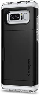 Spigen Galaxy Note 8 Case Crystal Wallet, Black