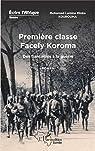 Première classe Facely Koroma : Des fiançailles à la guerre par Kourouma