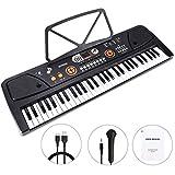 WOSTOO Clavier électronique de Piano 61, Portable Musique Clavier...