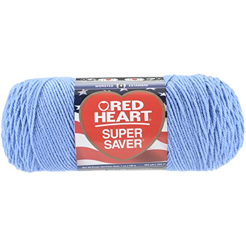Red Heart Super Saver Yarn-Light Periwinkle