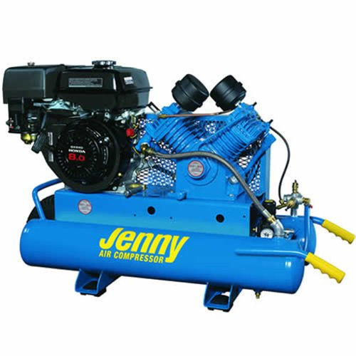 Jenny G9HGA-8P Single Stage Wheeled Portable Gasoline Engine...