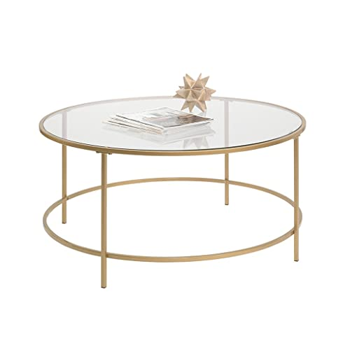 Round Glass Coffee Table Amazon Com