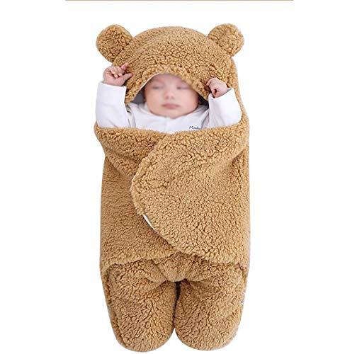 Manta Envolvente para Bebé Recién Nacido Saco de Dormir para Niñas Y...