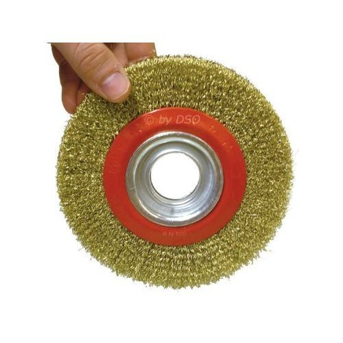 Toolzone 6  Wire Wheel For Bench Grinder
