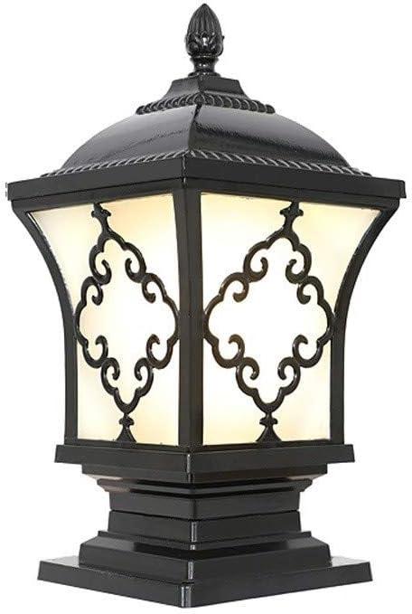 Columbus Mall ZZYJYALG Outdoor Garden IP54 Waterproof Lamp Column Under blast sales Glass Lanter