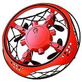 ZZMY Recargable Mini Drone UFO,Juguetes Voladores,Juguete Inducción Infrarroja Movimiento,Con luces LED, control por gestos, evitación automática de obstáculos, apto para niños y adultos
