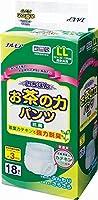 お茶の強力脱臭付で1枚 53円 茶葉カテキンの力で 脱臭と抗菌効果 いちばんお茶の力パンツ LL 18枚 12入(3合)